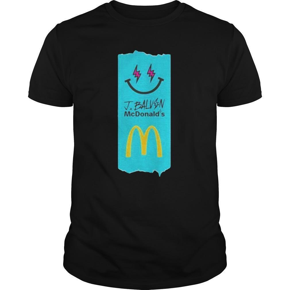 J Balvin Mcdonalds Shirt