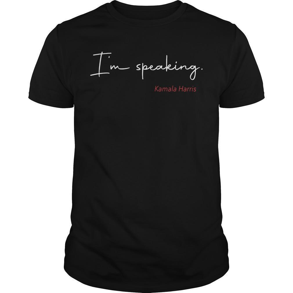 Katie Hill I'm Speaking Kamala Harris Shirt