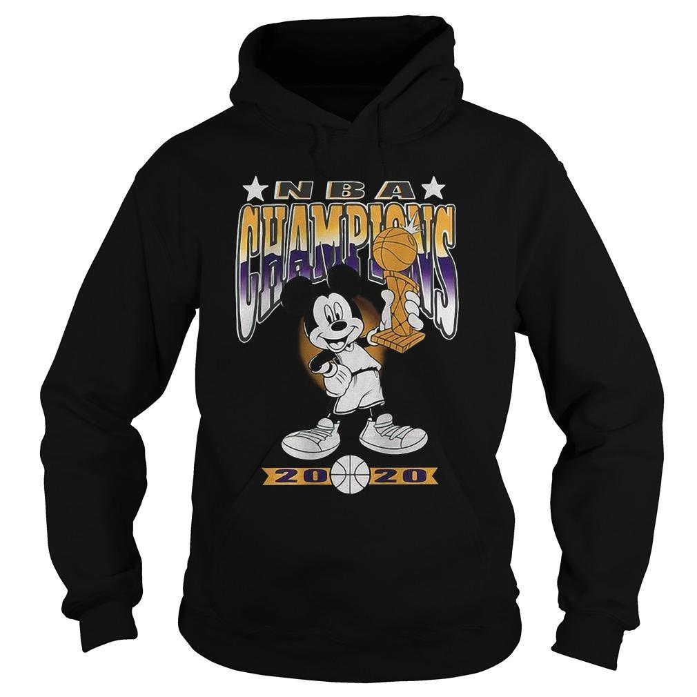 Lakers Mickey Mouse Nba Champions 2020 Hoodie