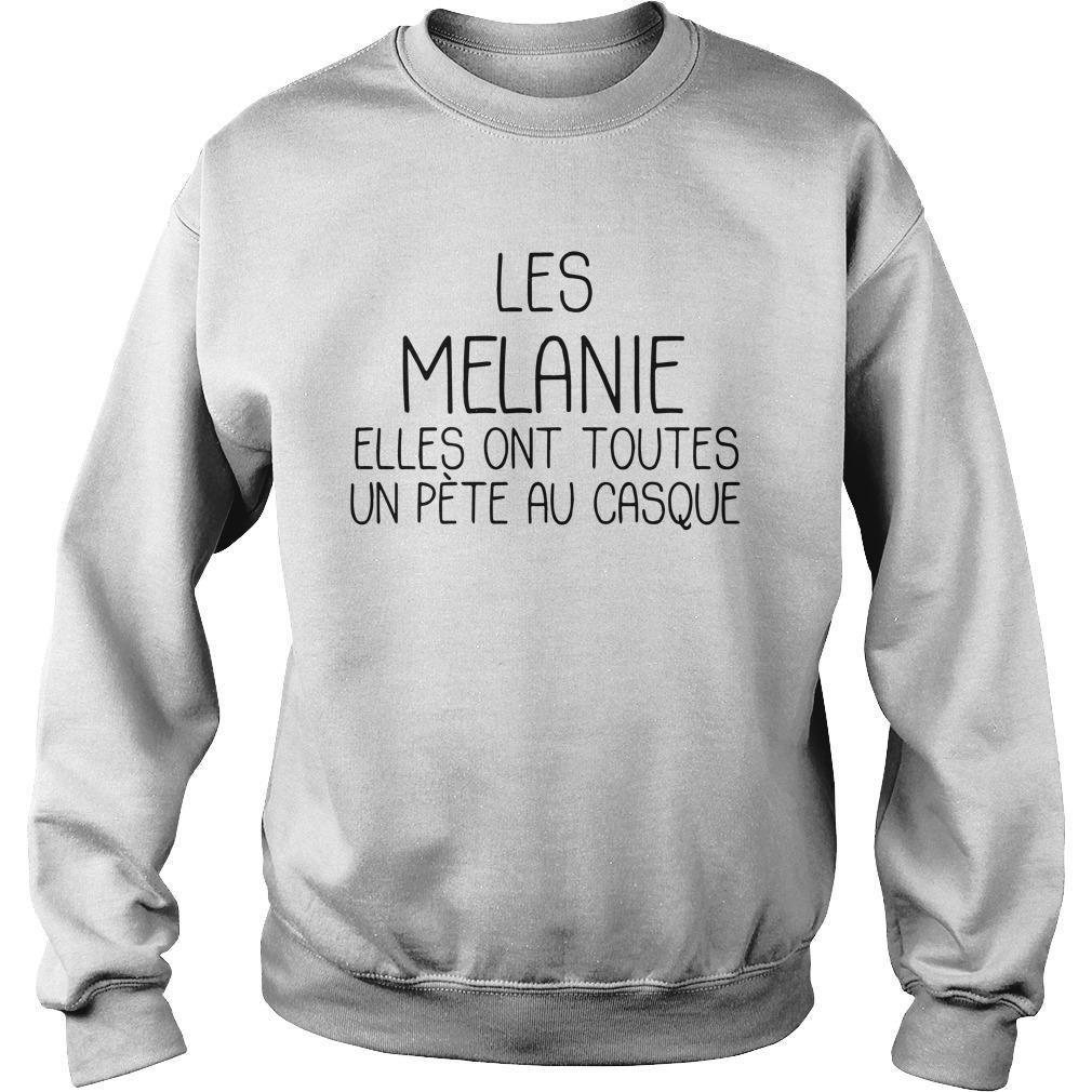 Les Melanie Elles Ont Toutes Un Pète Au Casque Sweater