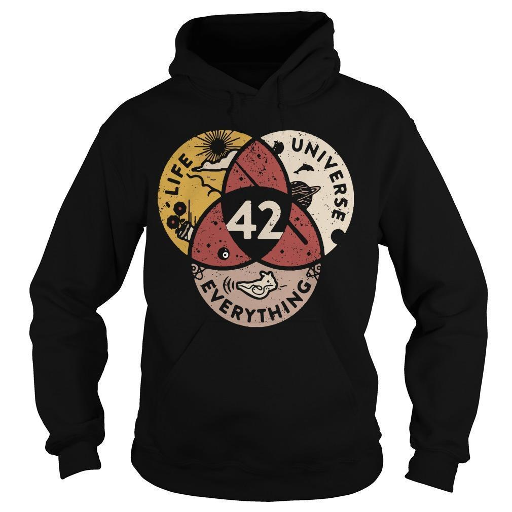 Life Universe Everything 42 Hoodie