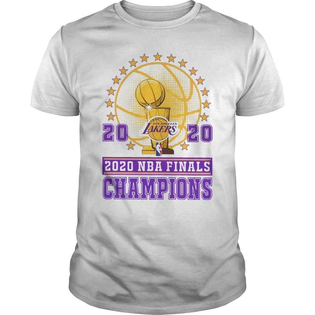 Los Angeles Lakers 2020 Nba Finals Champions Shirt