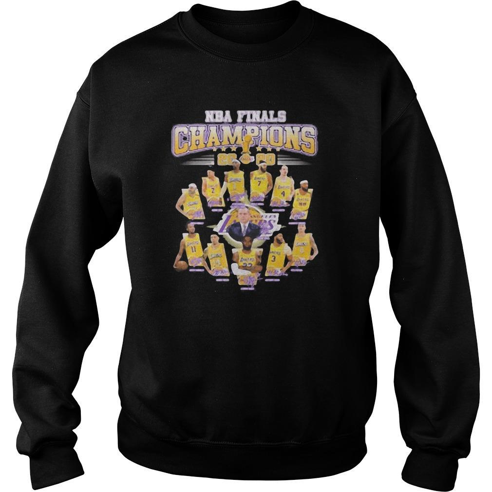 Nba Finals Champions 2020 Los Angeles Lakers Sweater