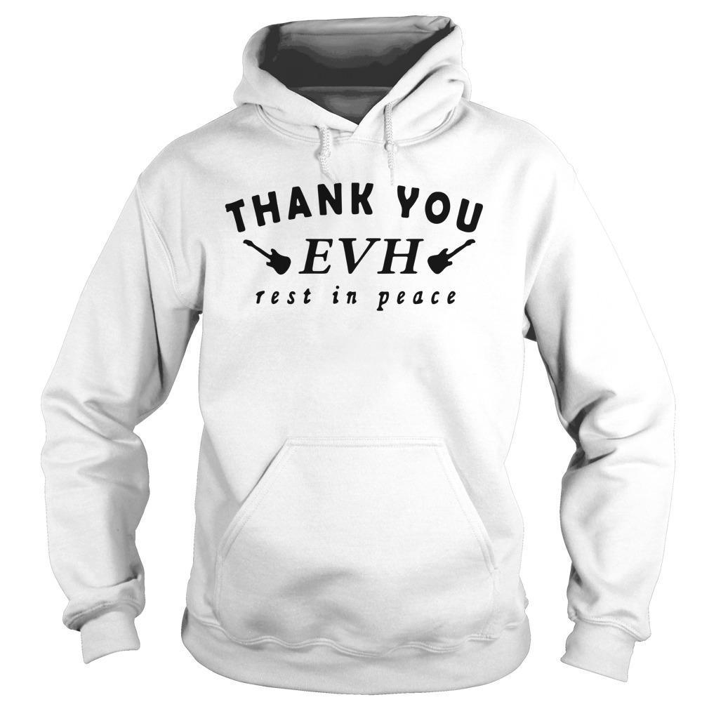 Thank You Evh Rest In Peace Hoodie