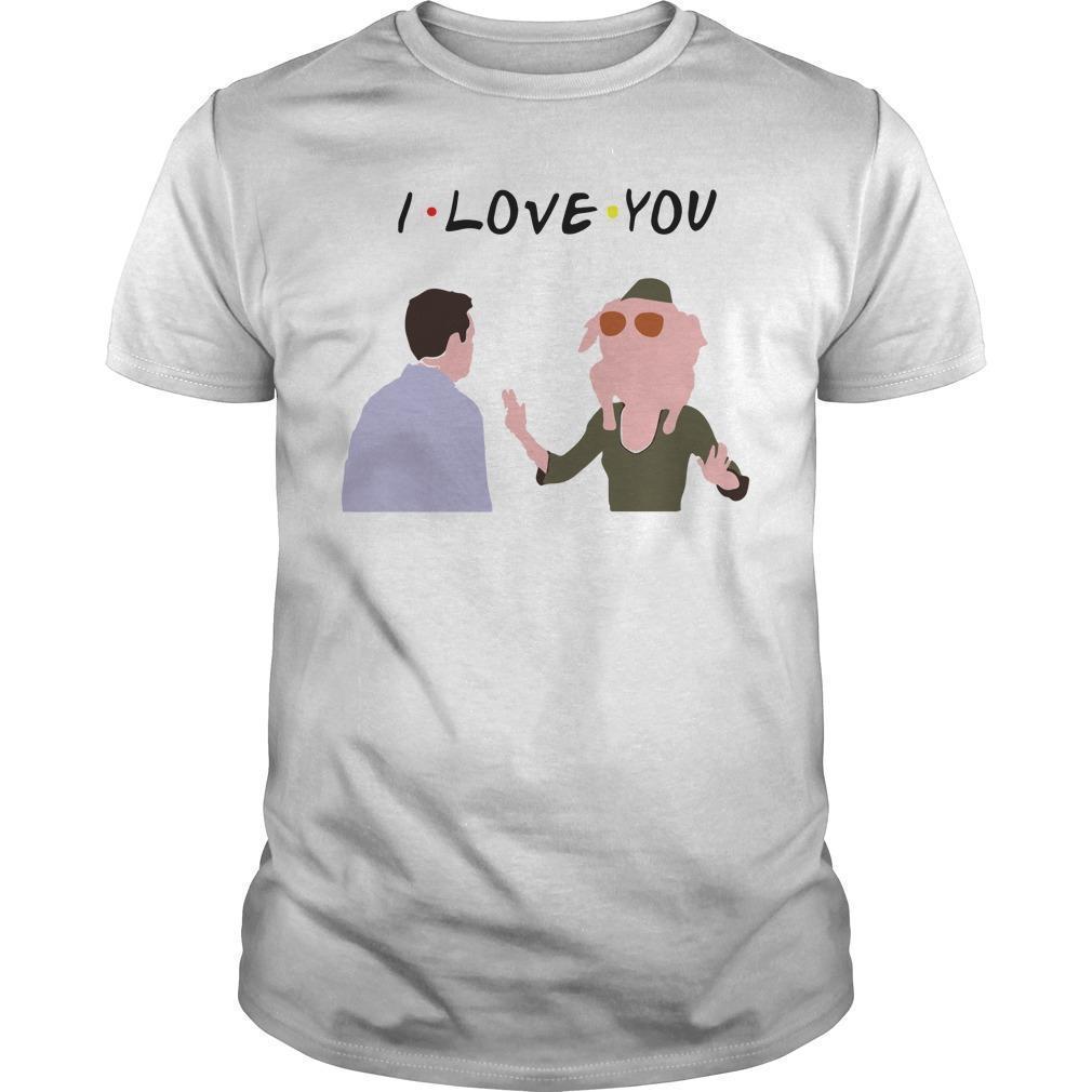 Chandler Bing I Love You Shirt