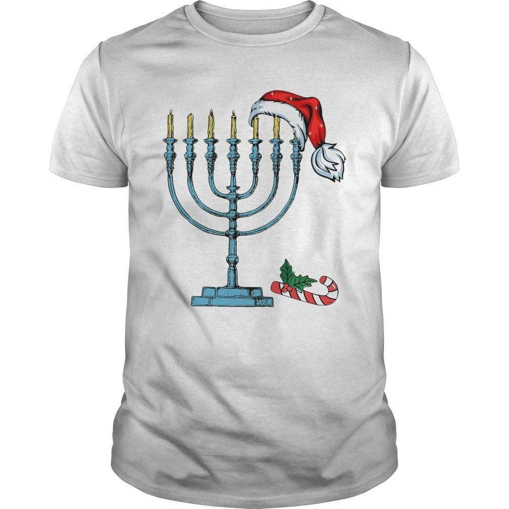 Christmas And Hanukkah Shirt