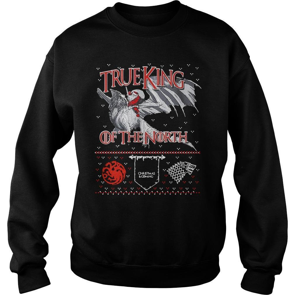 Christmas Santa True King Of The North Sweater
