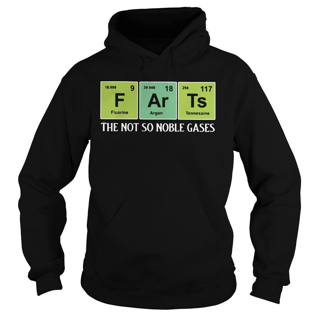 F Ar Ts The Not So Noble Gases Hoodie