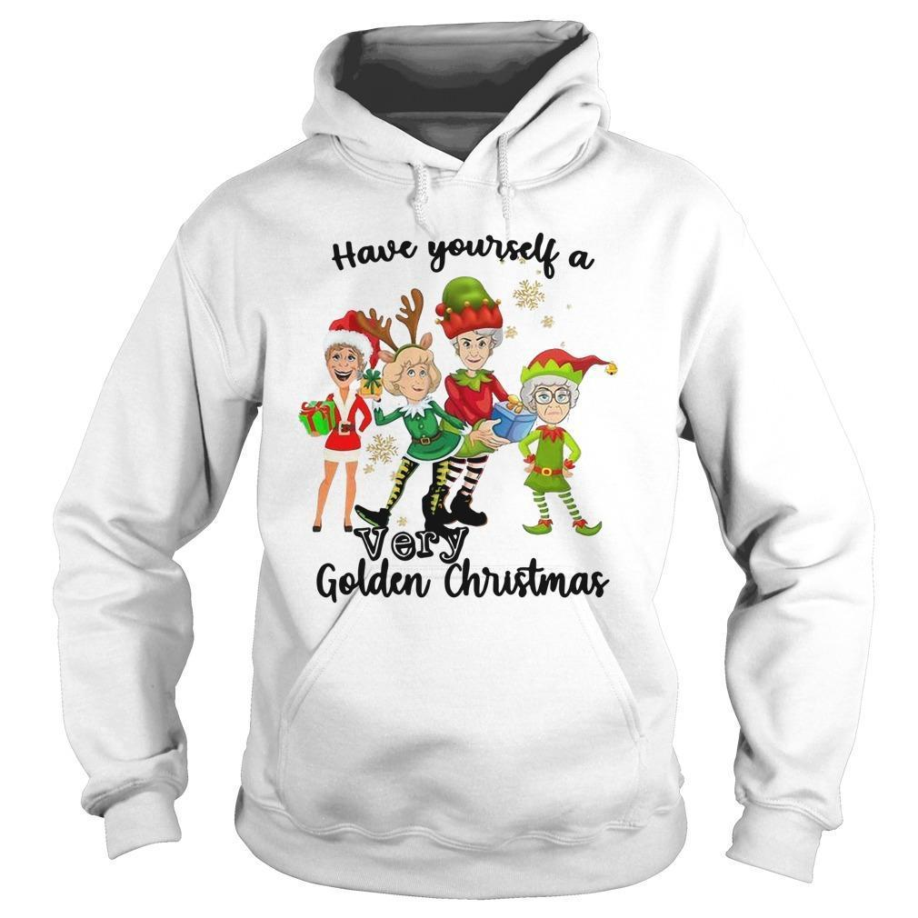 Have Yourself A Very Golden Christmas Hoodie