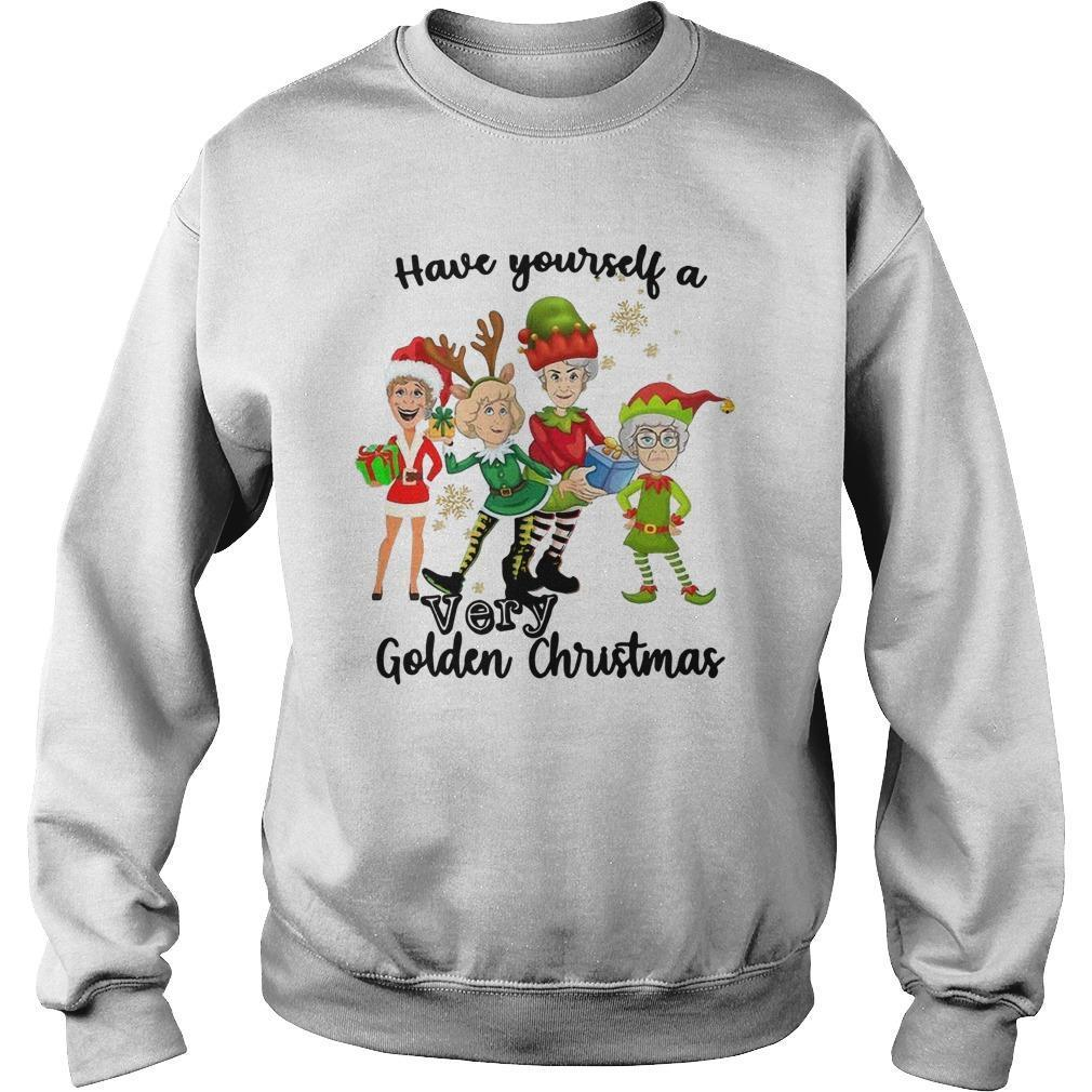 Have Yourself A Very Golden Christmas Sweater