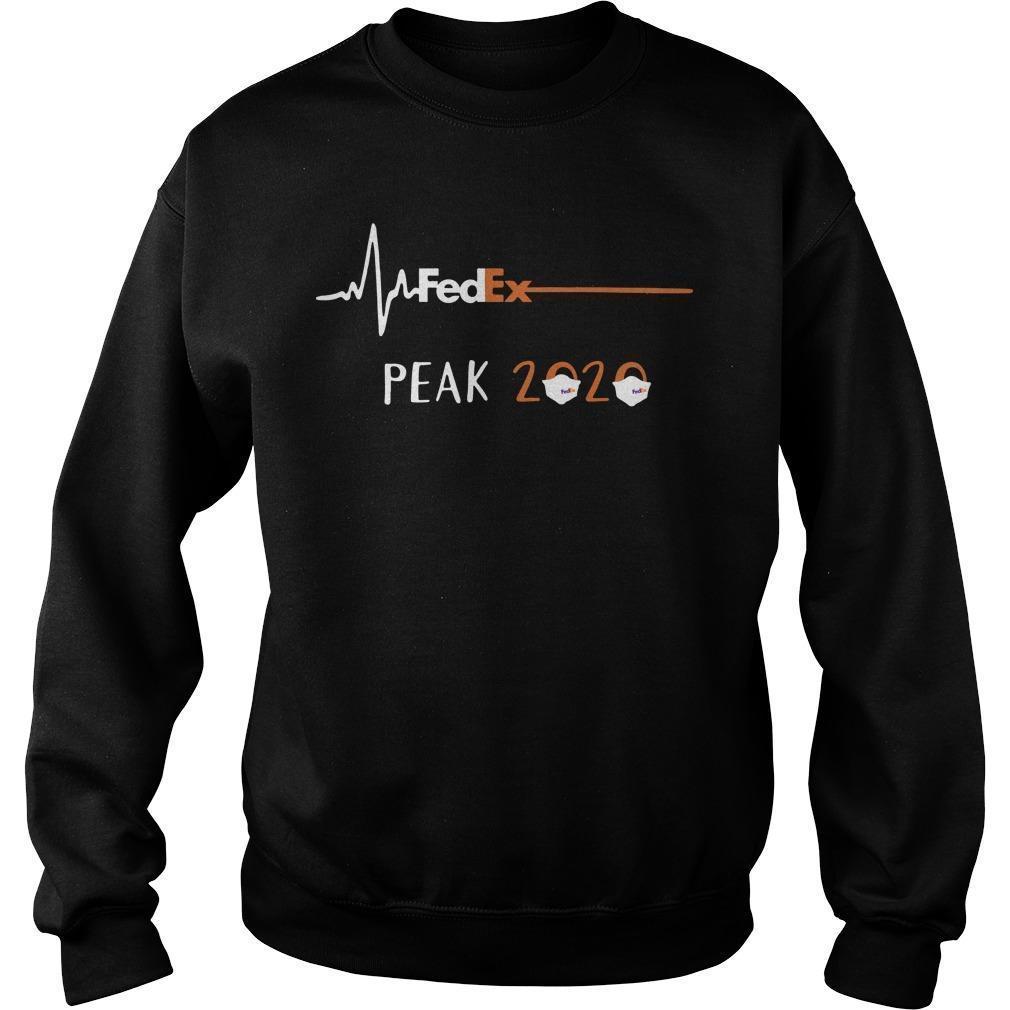 Heart Beat Fedex Peak 2020 Sweater