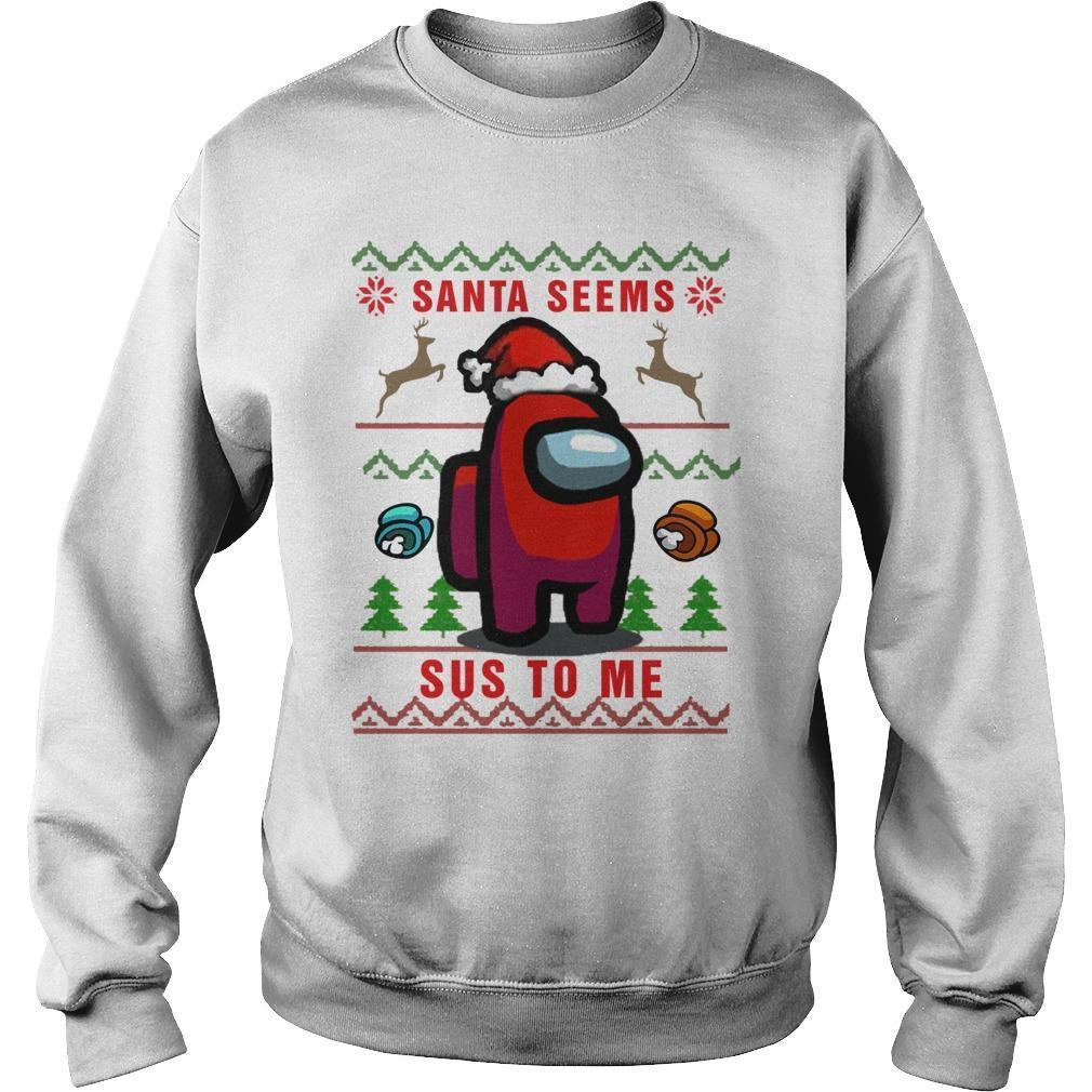Imposter Santa Seems Sus To Me Sweater