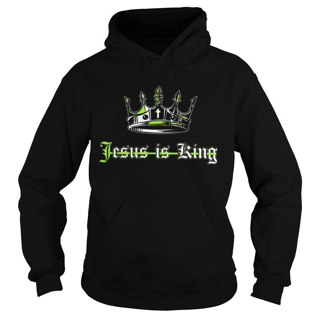 Jesus Is King Hoodie