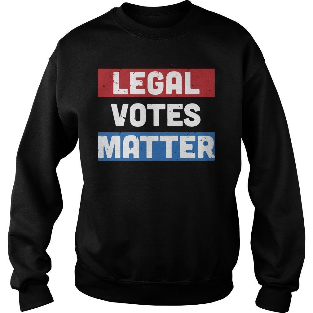 Legal Votes Matter Sweater