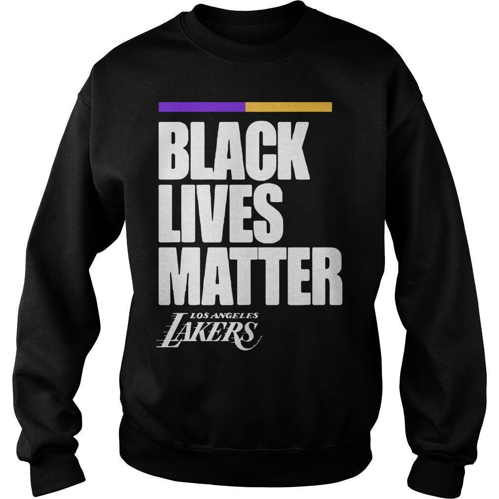 Los Angeles Lakers Black Lives Matter Sweater