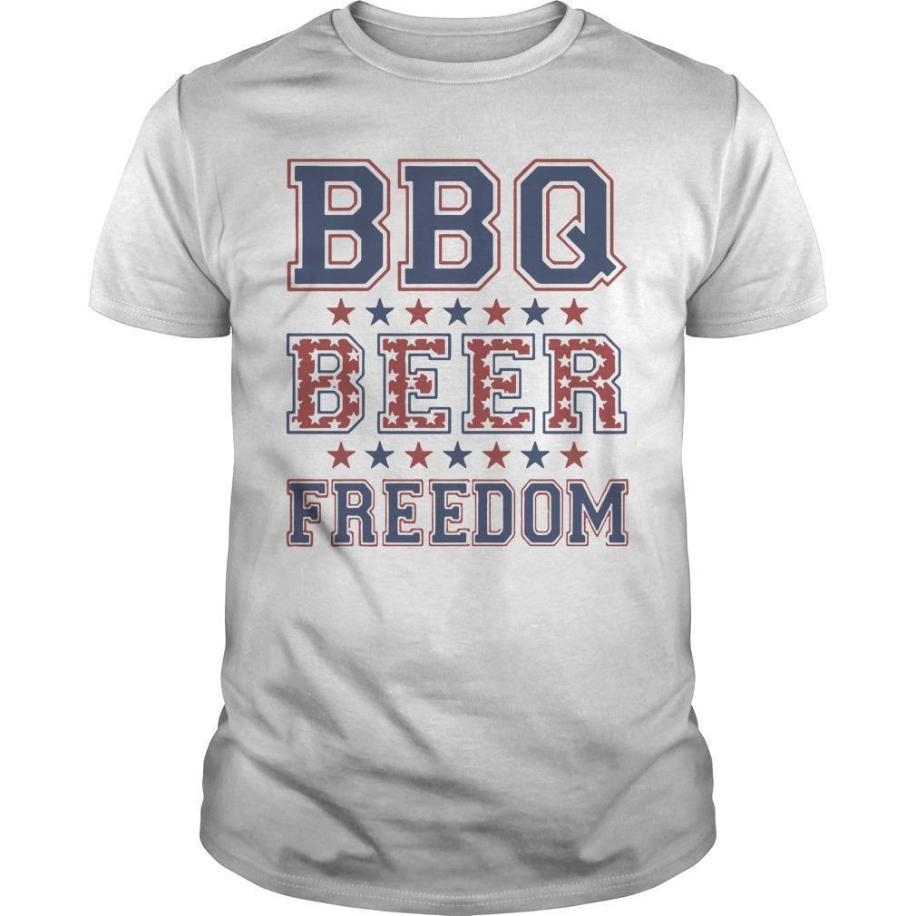 Nevada Bbq Beer Freedom Shirt