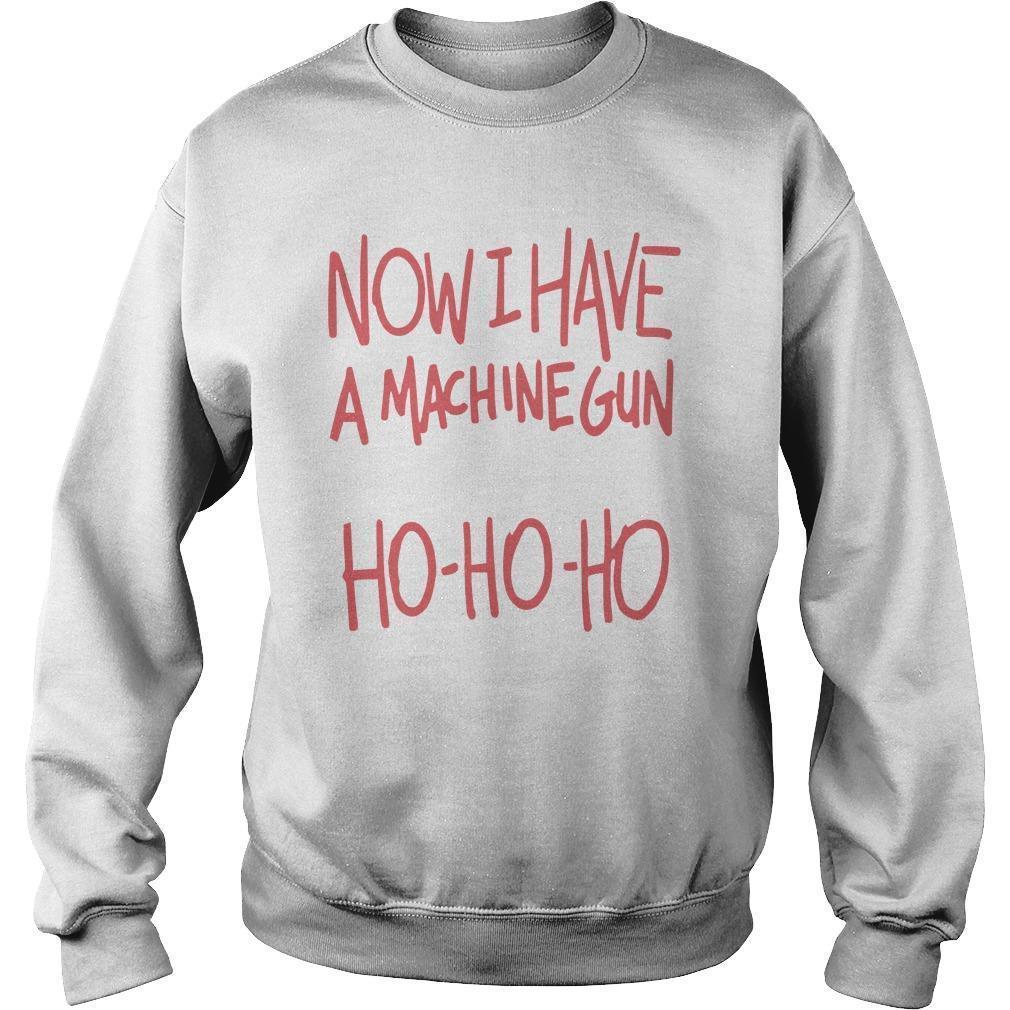 Now I Have A Machine Gun Ho Ho Ho Sweater