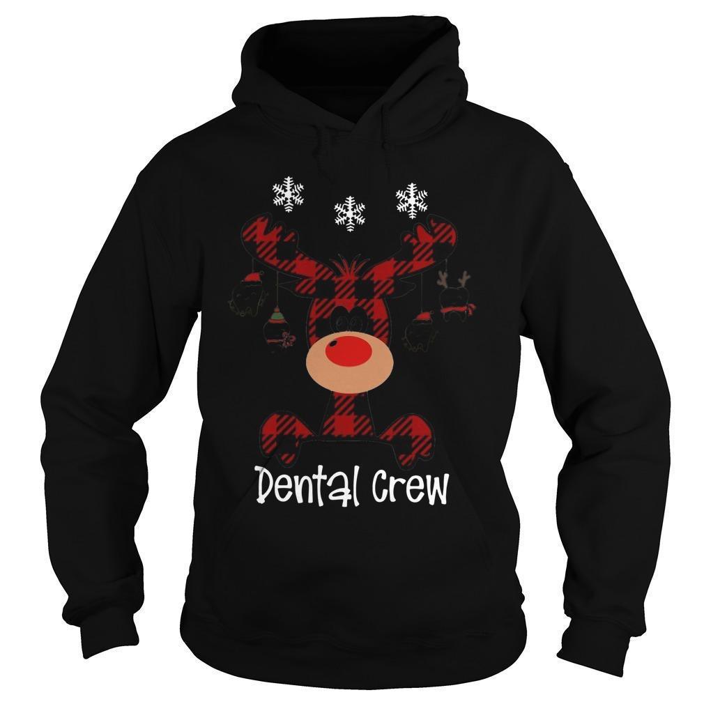 Reindeer Dental Crew Hoodie