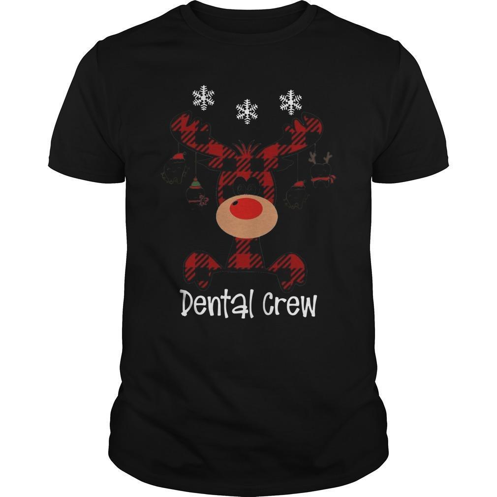 Reindeer Dental Crew Shirt