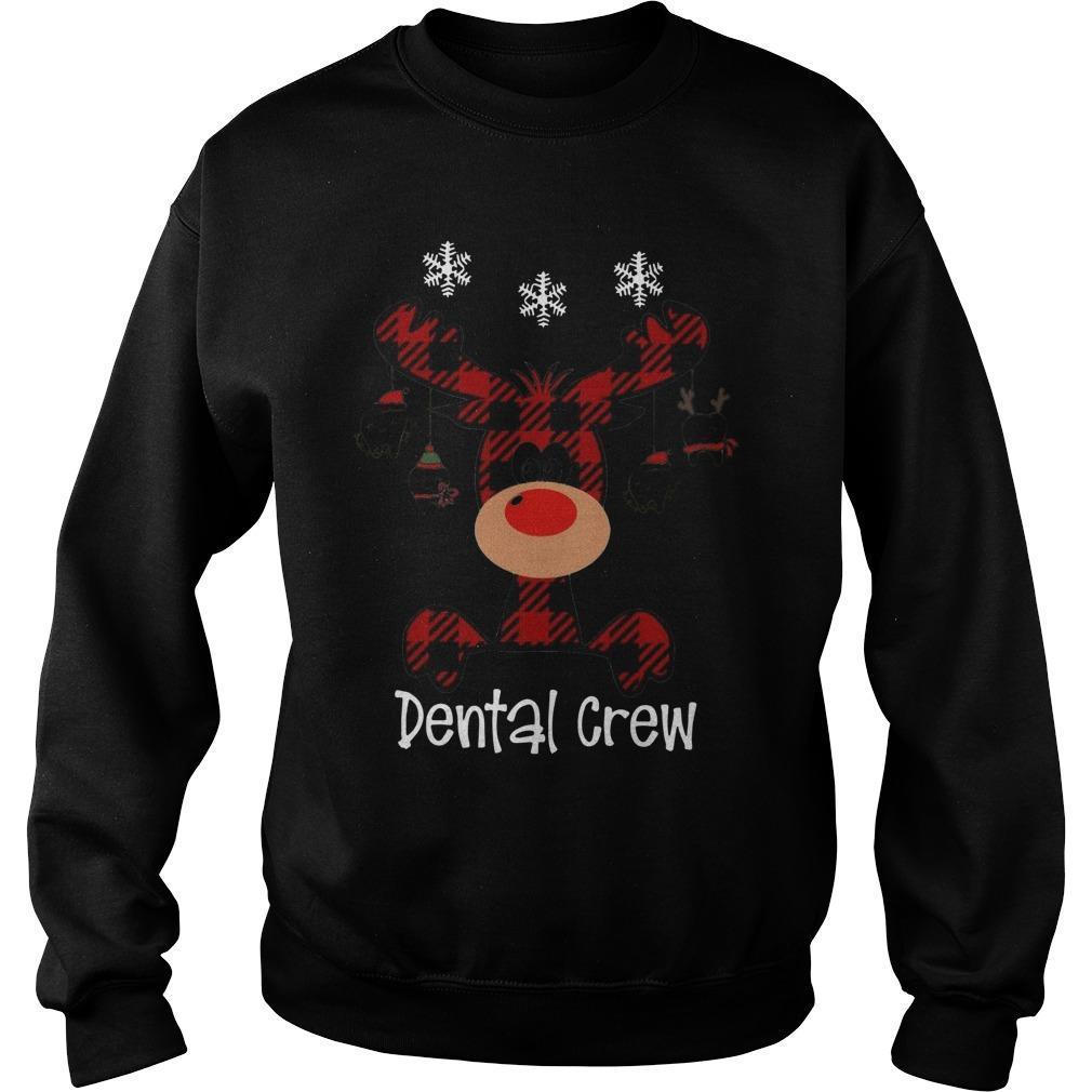Reindeer Dental Crew Sweater