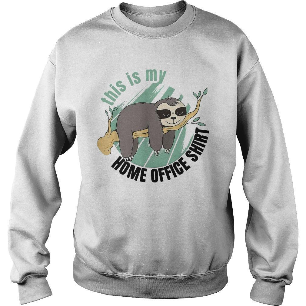 Sloth This Is My Home Office Sweater