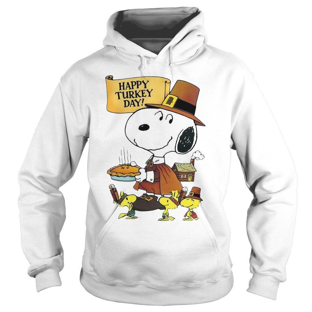 Snoopy Happy Turkey Day Hoodie