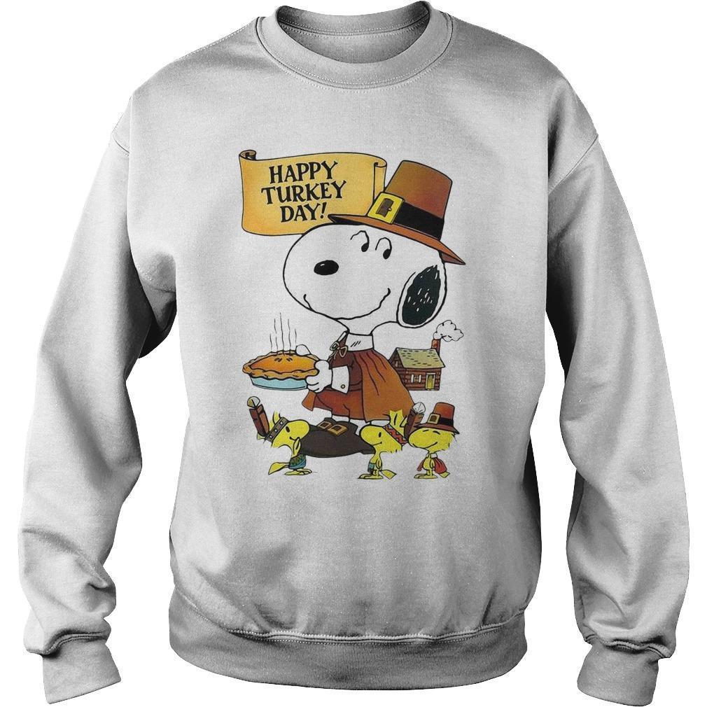 Snoopy Happy Turkey Day Sweater