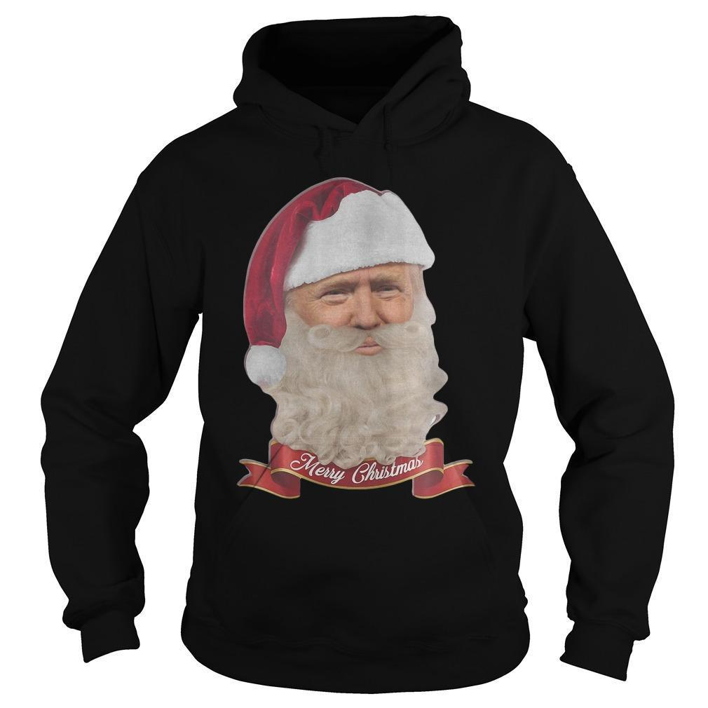 Trump Claus Merry Christmas Hoodie