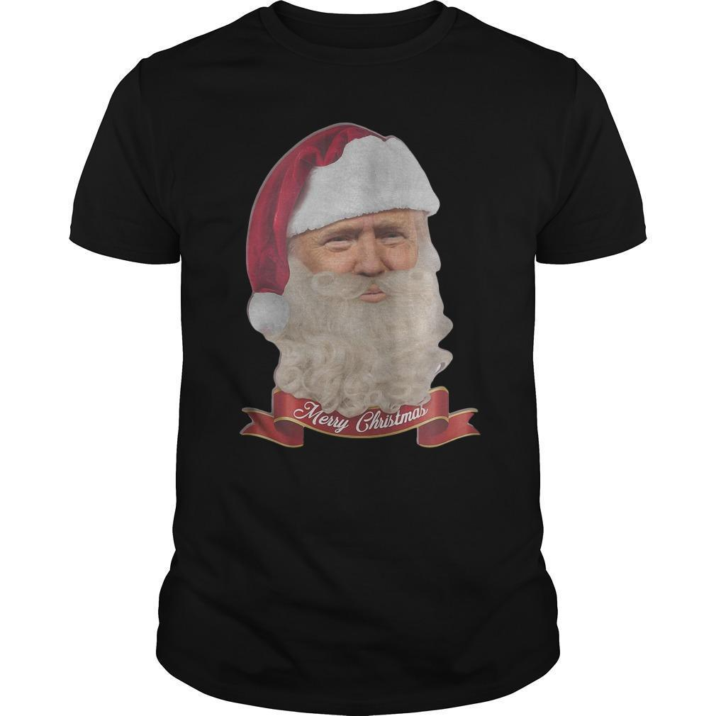 Trump Claus Merry Christmas Shirt
