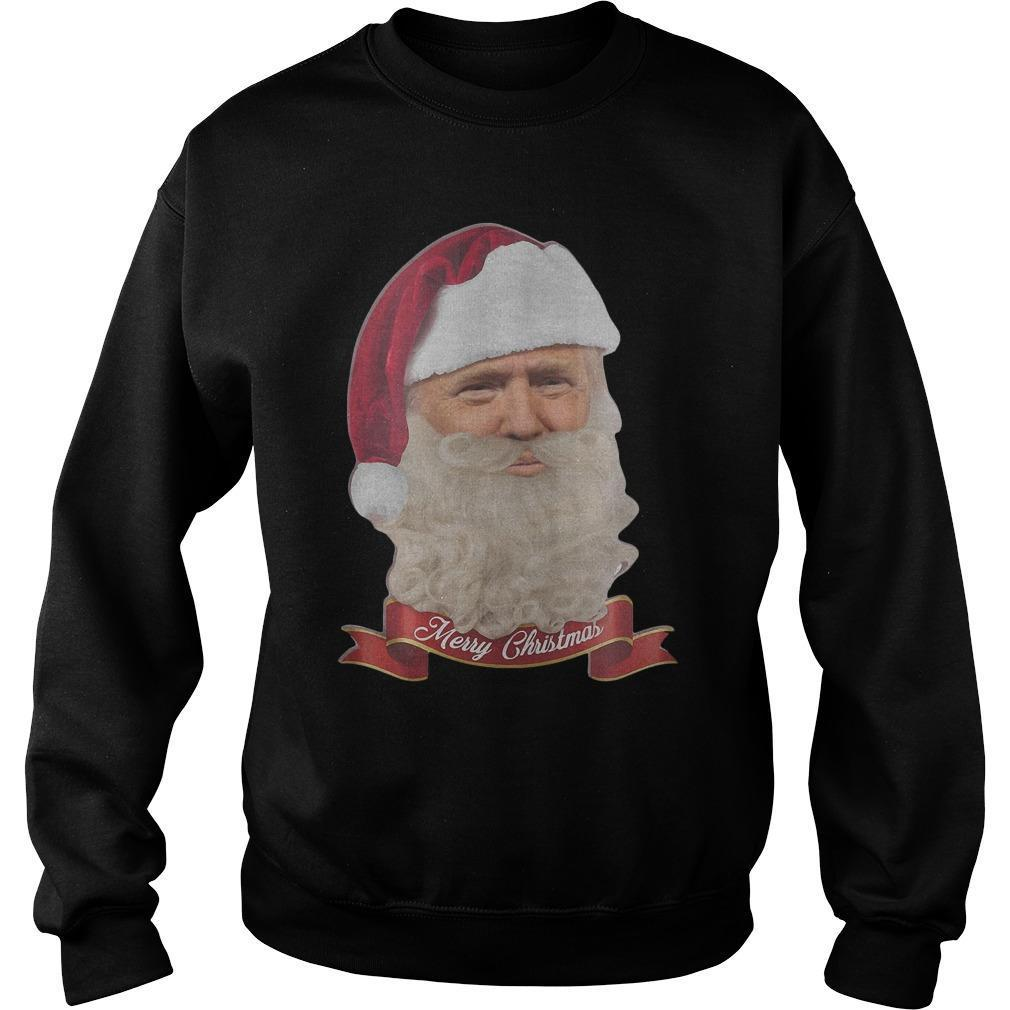 Trump Claus Merry Christmas Sweater
