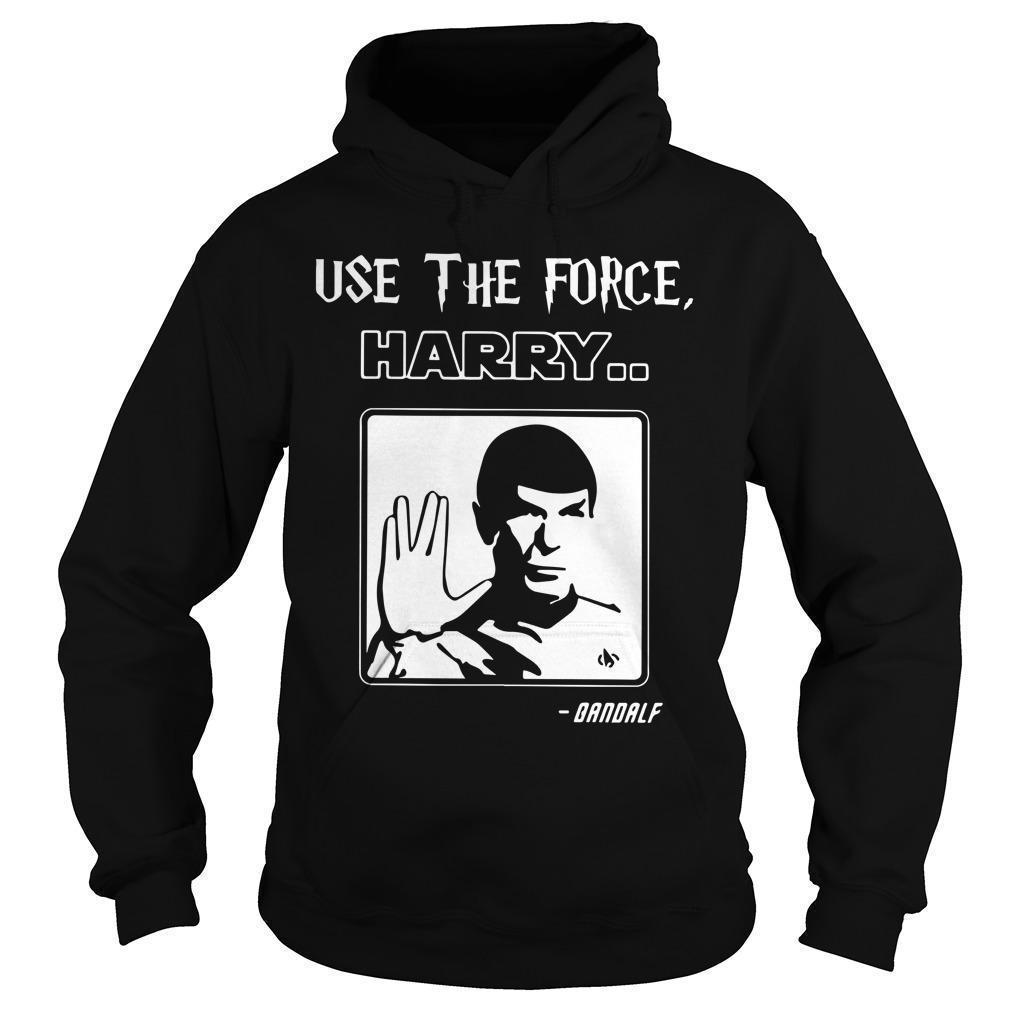 Use The Force Harry Gandalf Hoodie