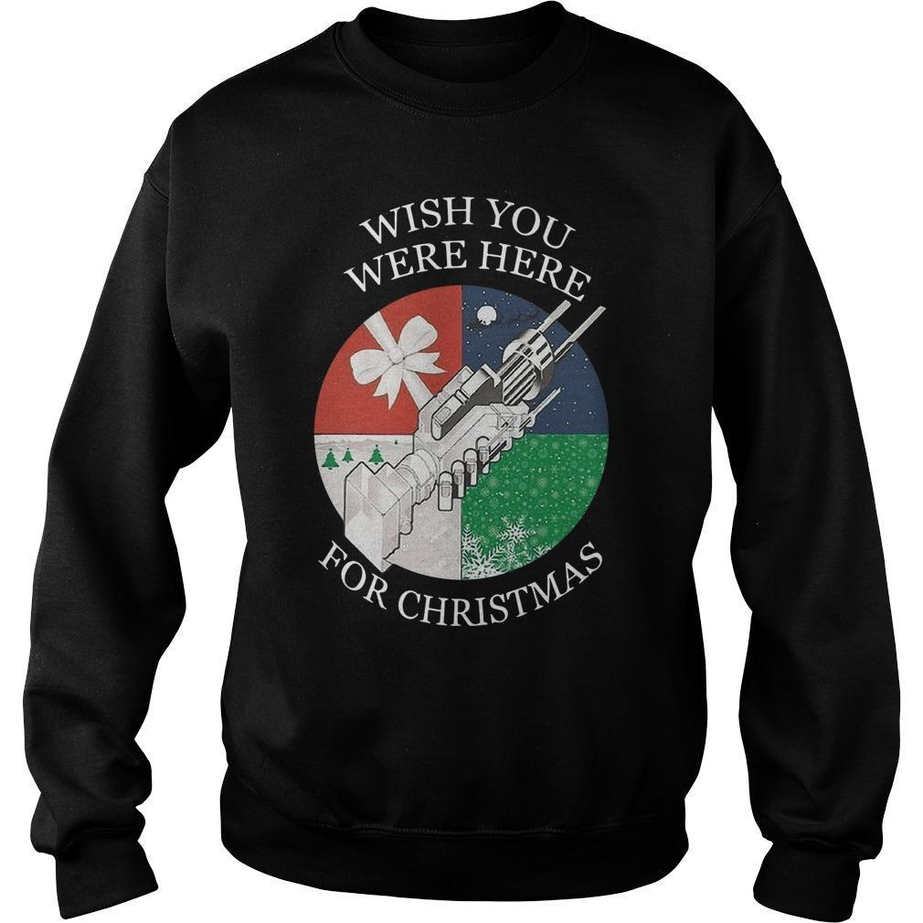 Wish You Were Here For Christmas Sweater