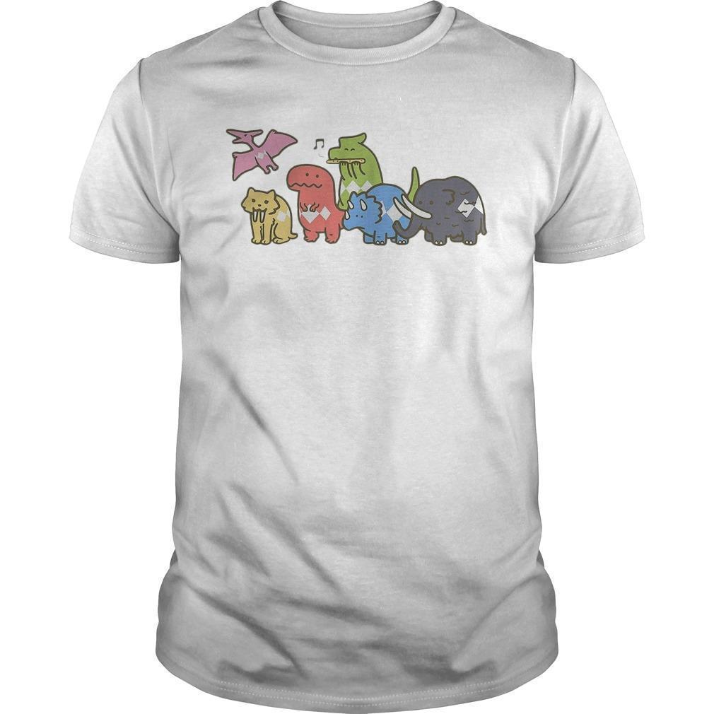 Chibi Ice Age Dinosaur Shirt