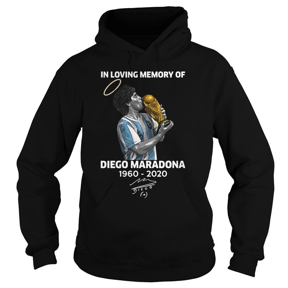 In Loving Memory Of Diego Maradona Hoodie