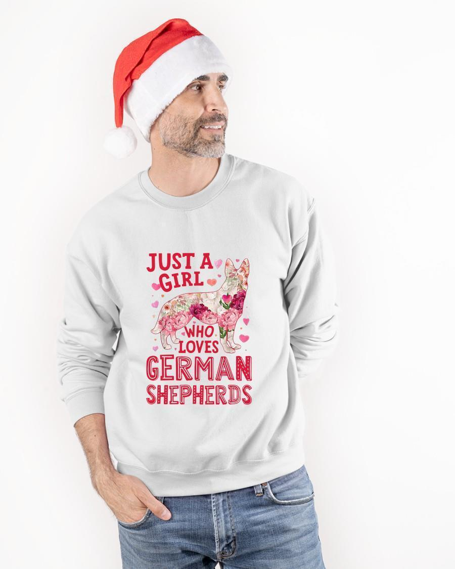 Just A Girl Who Loves German Shepherds Sweater