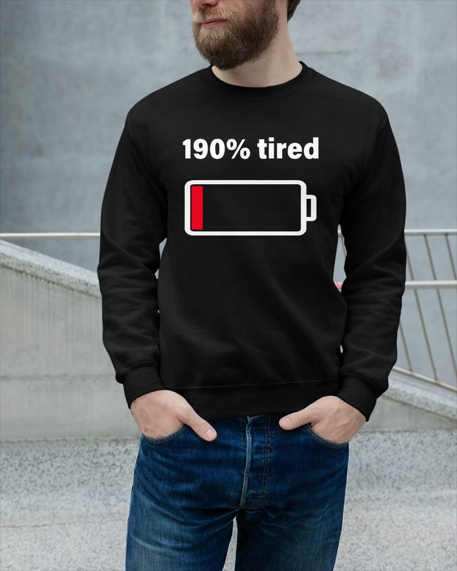 Low Battery 190 Tired Sweater