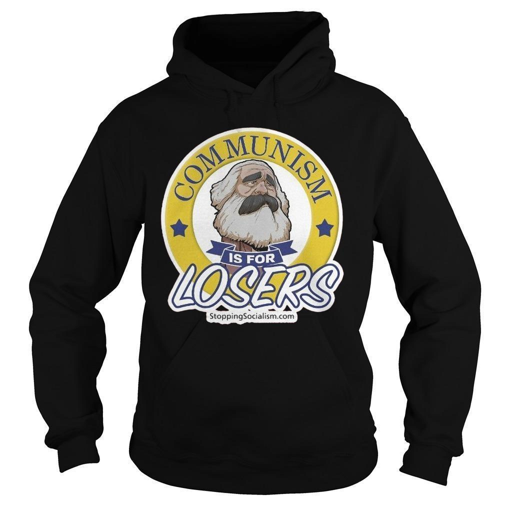 Marx Communism Is For Losers Hoodie