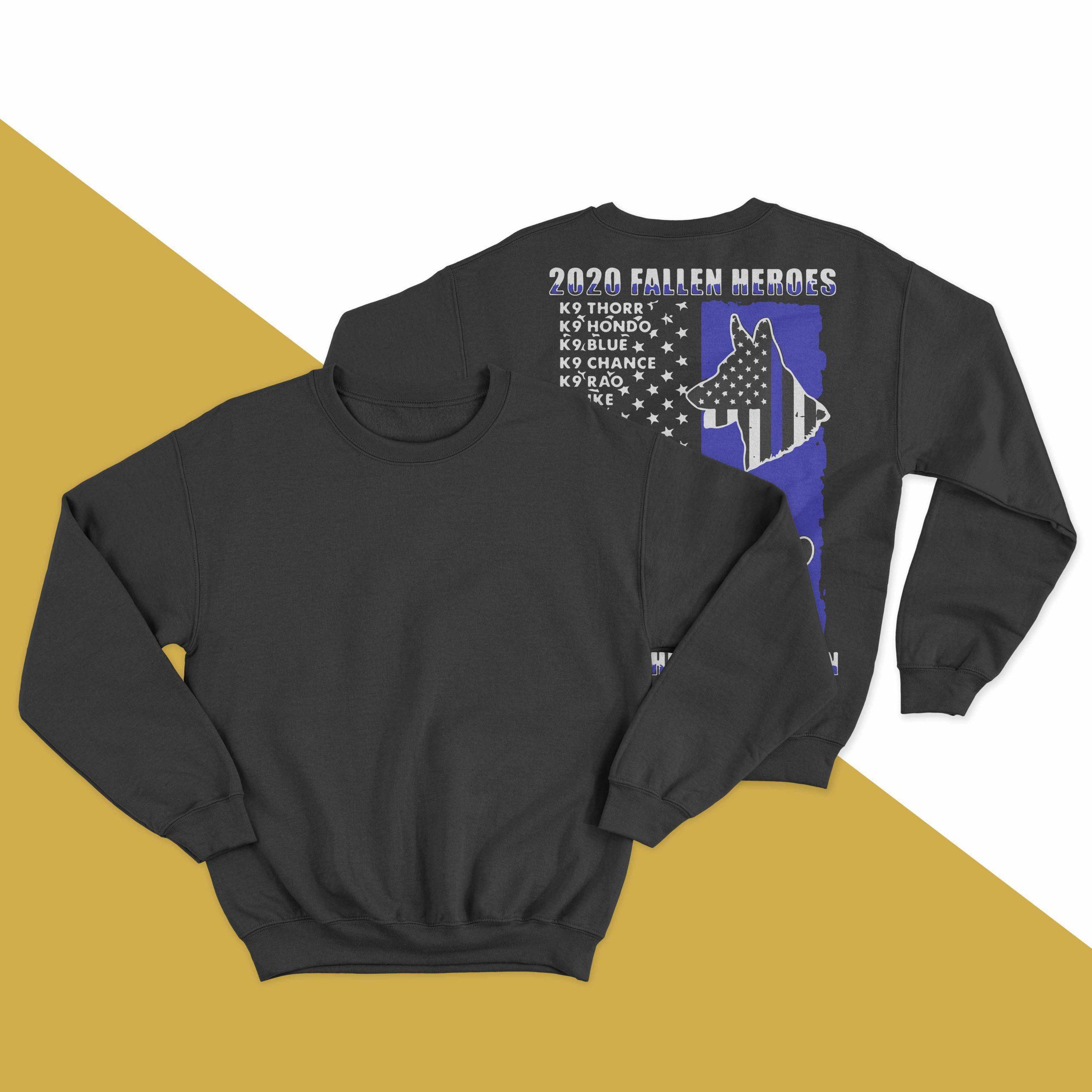 2020 Fallen Heroes Honor The Loyal Fallen Sweater