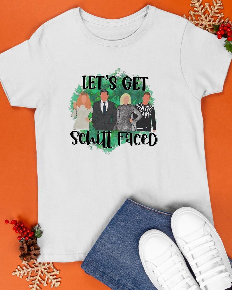 Let's Get Schill Faced Shirt