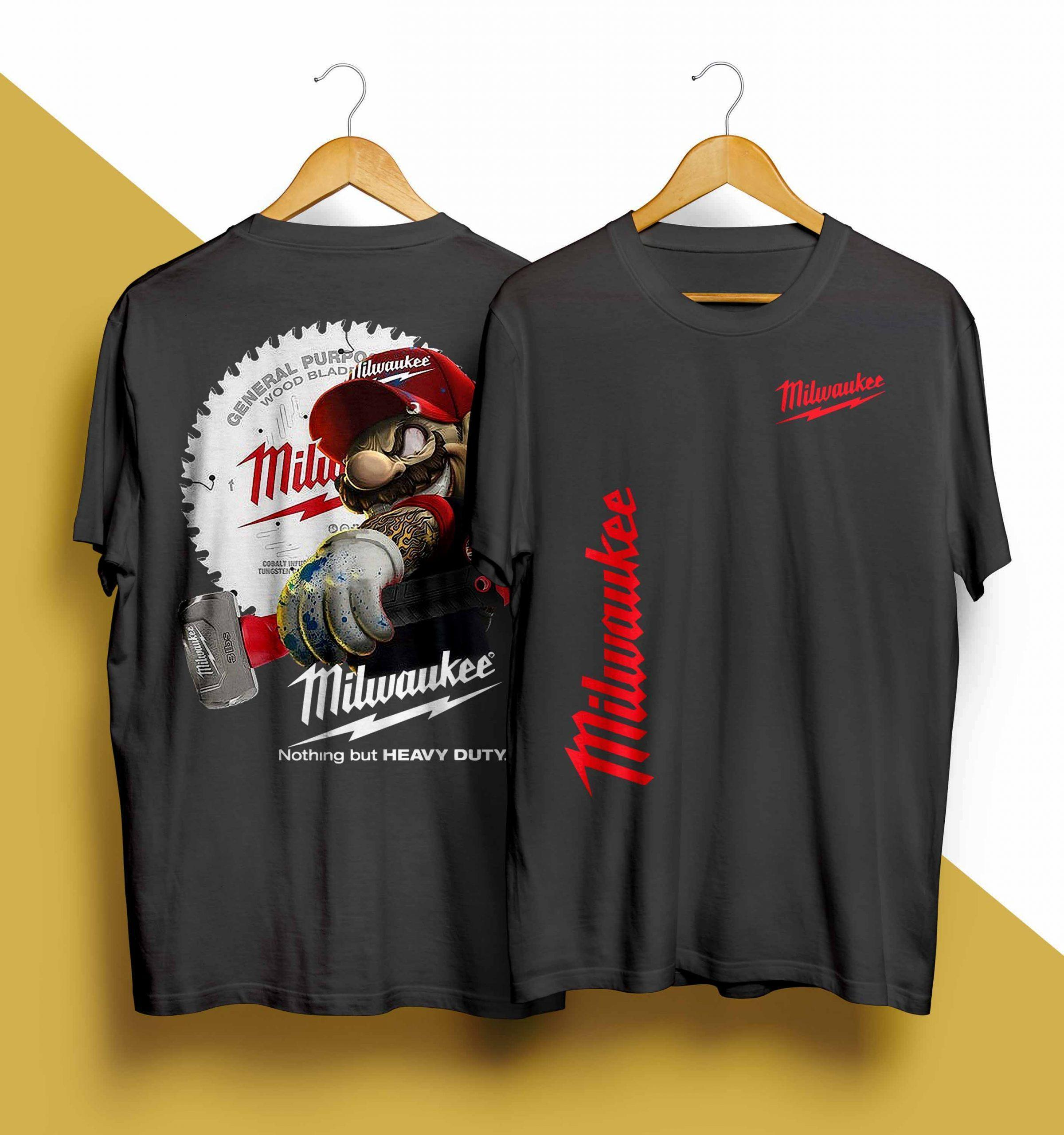 Mario Milwaukee Nothing But Heavy Duty Shirt