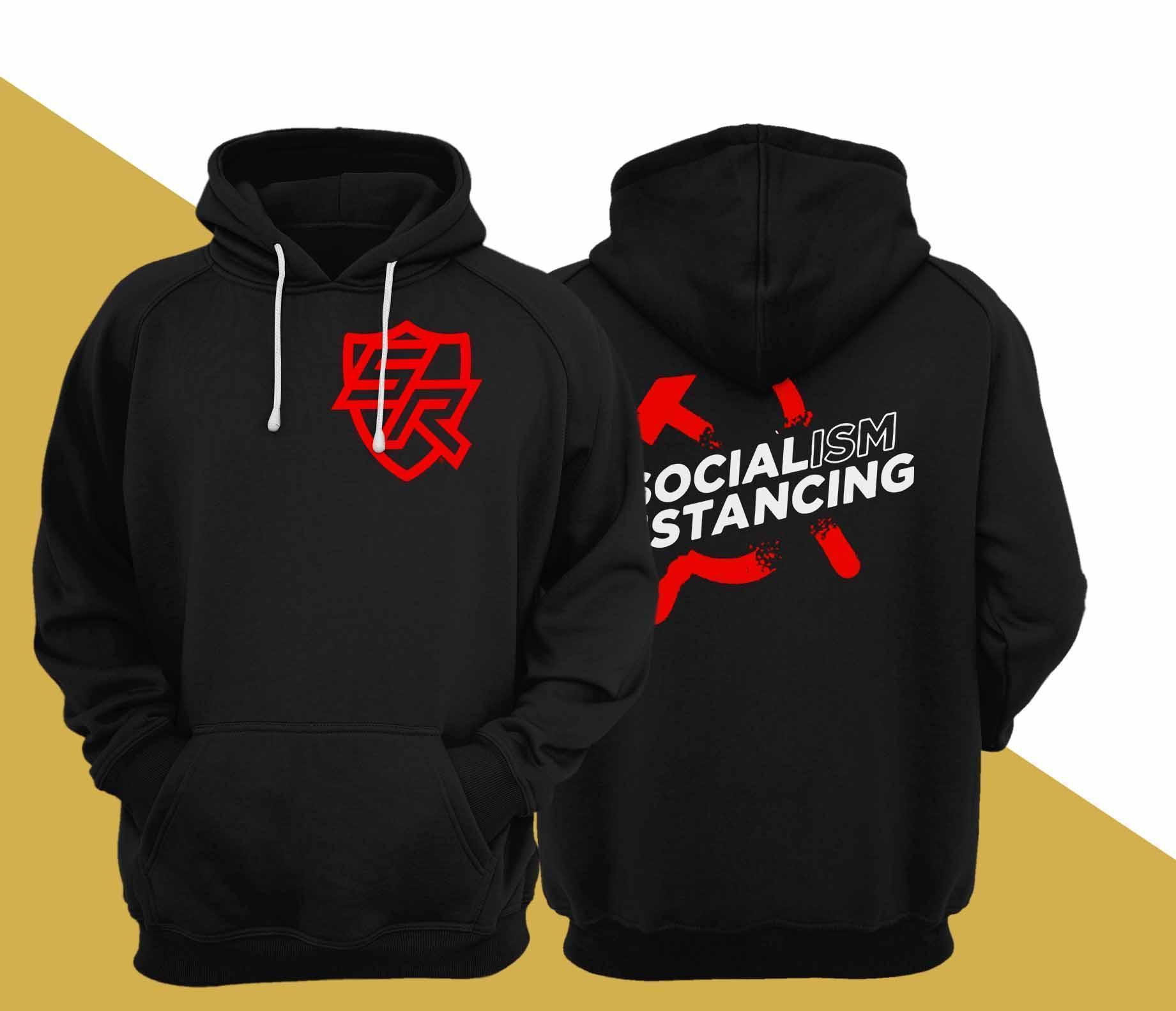 Socialism Distancing Hoodie
