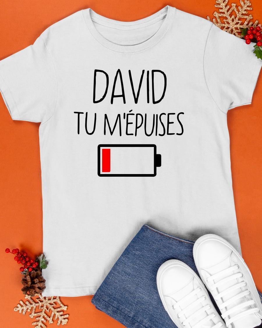 David Tu M'épuises Shirt