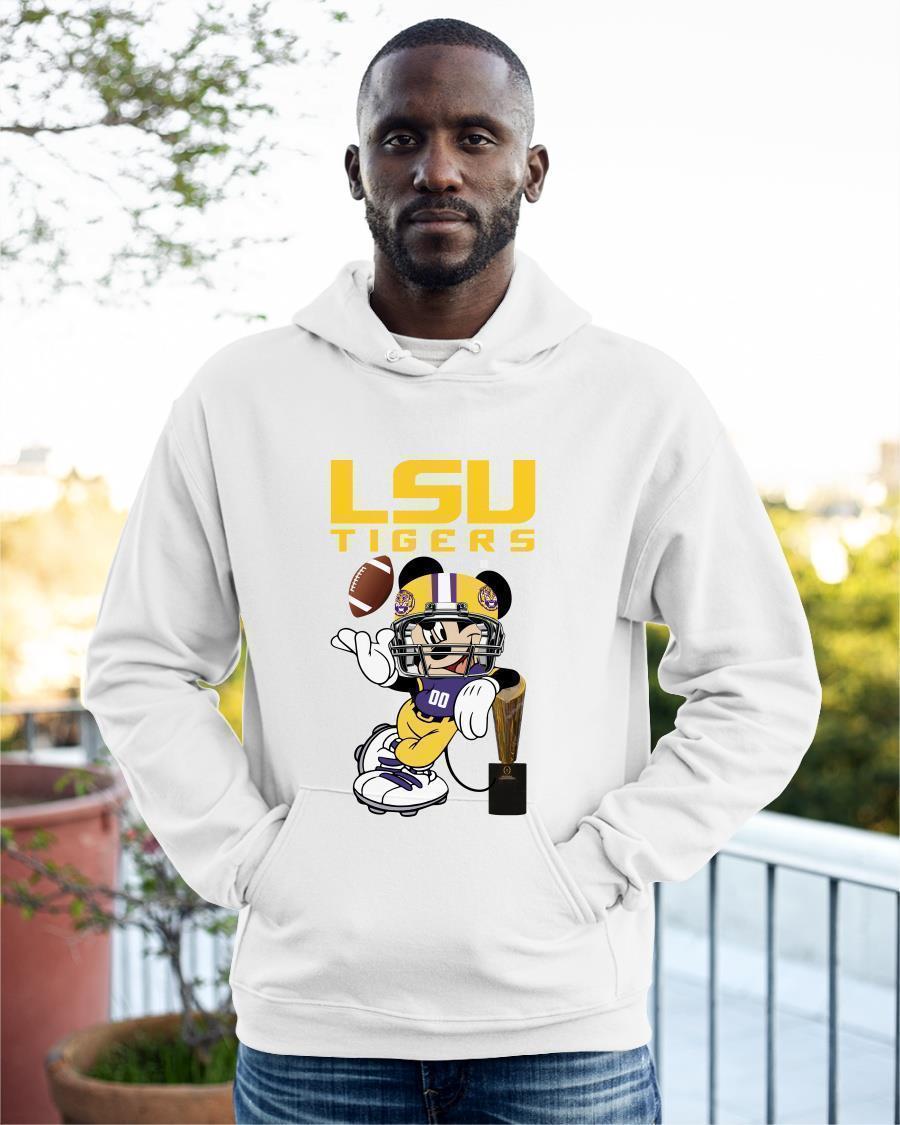 Disney Mickey LSU Tigers Hoodie