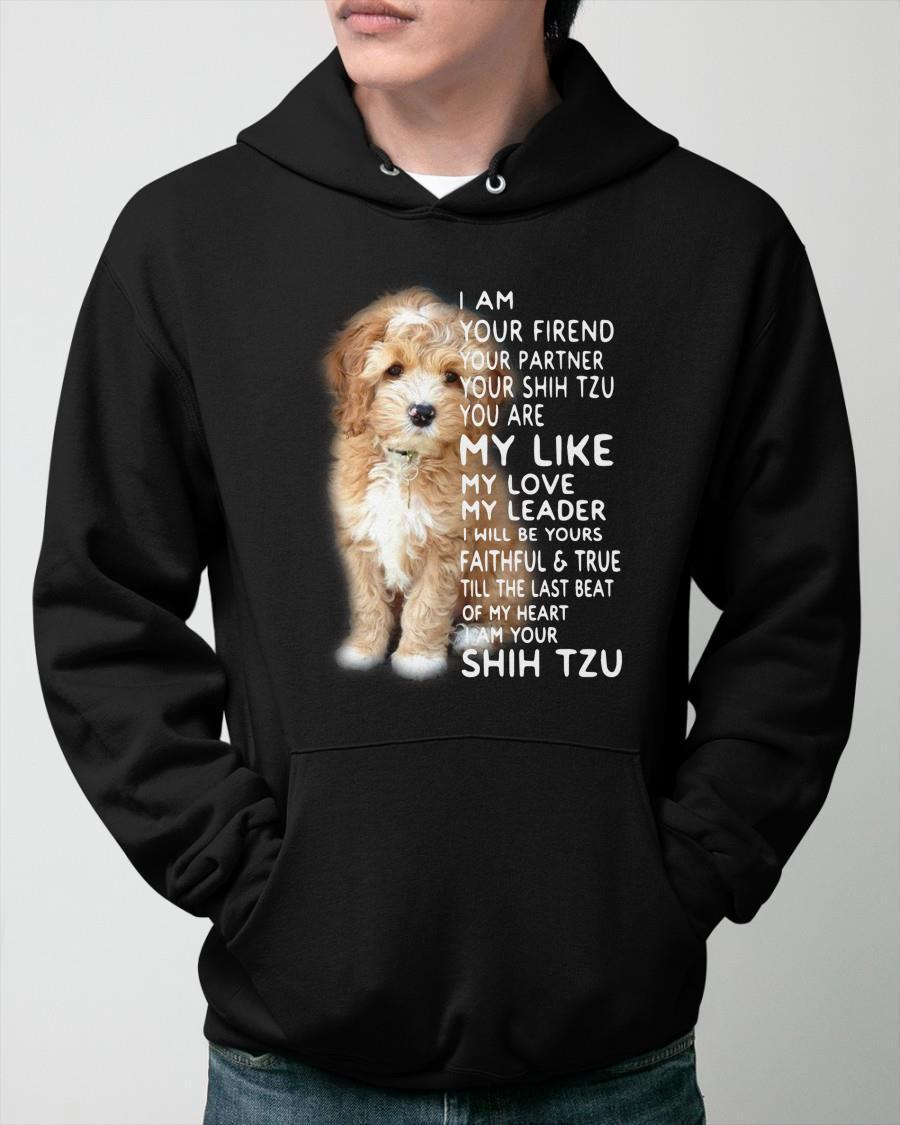 I Am Your Friend Your Partner Your Shih Tzu Hoodie