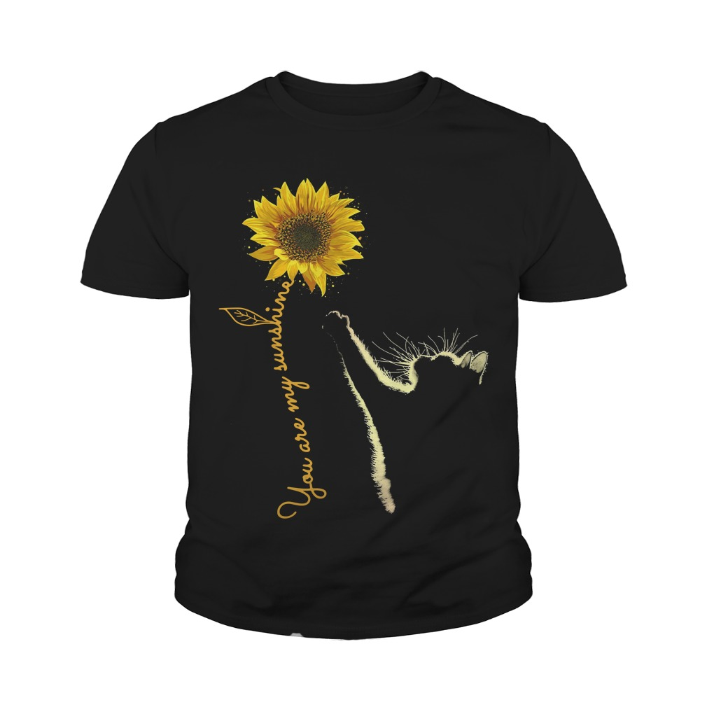 Cat You Are My Sunshine Youth Tee