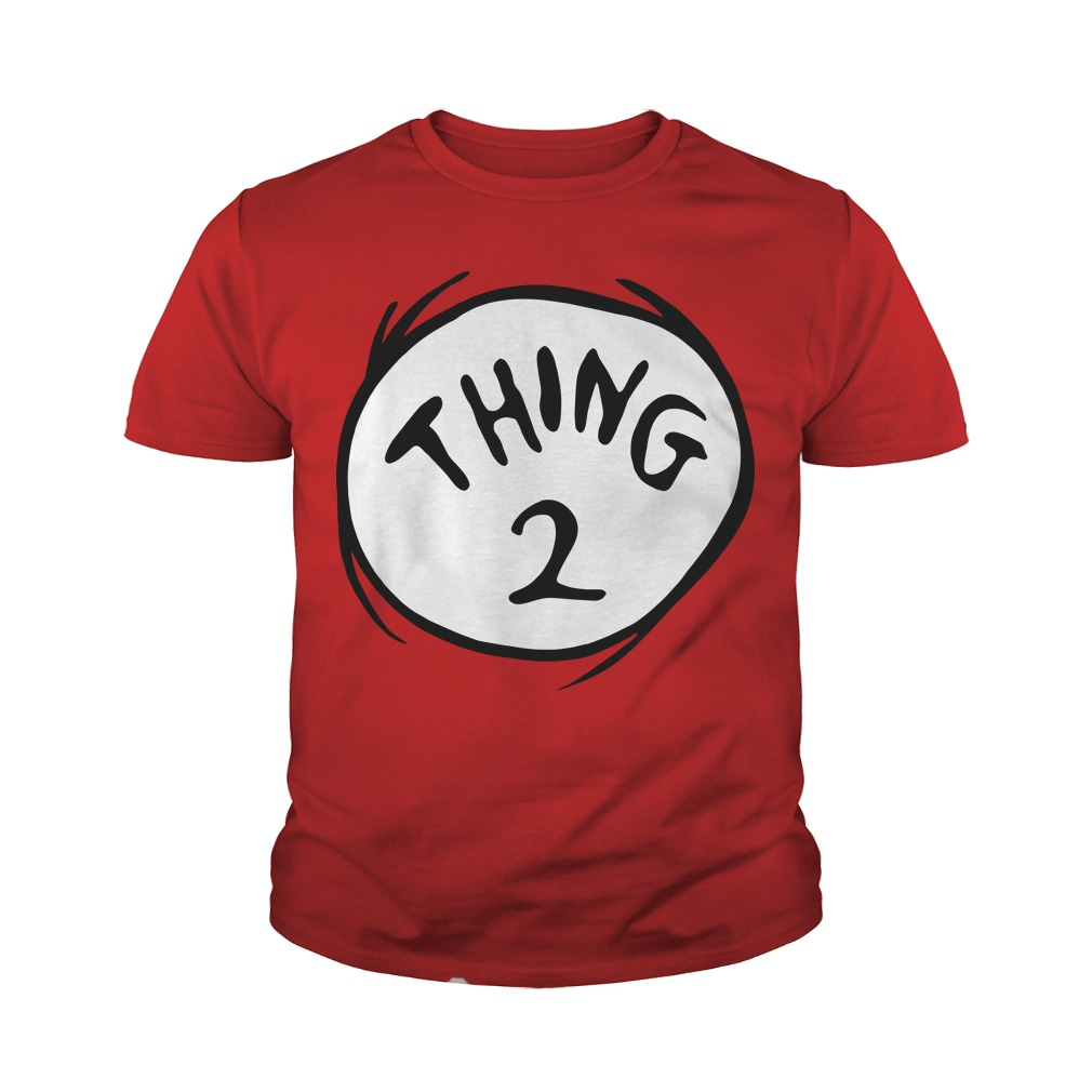 Dr. Seuss Thing 2 Youth Tee