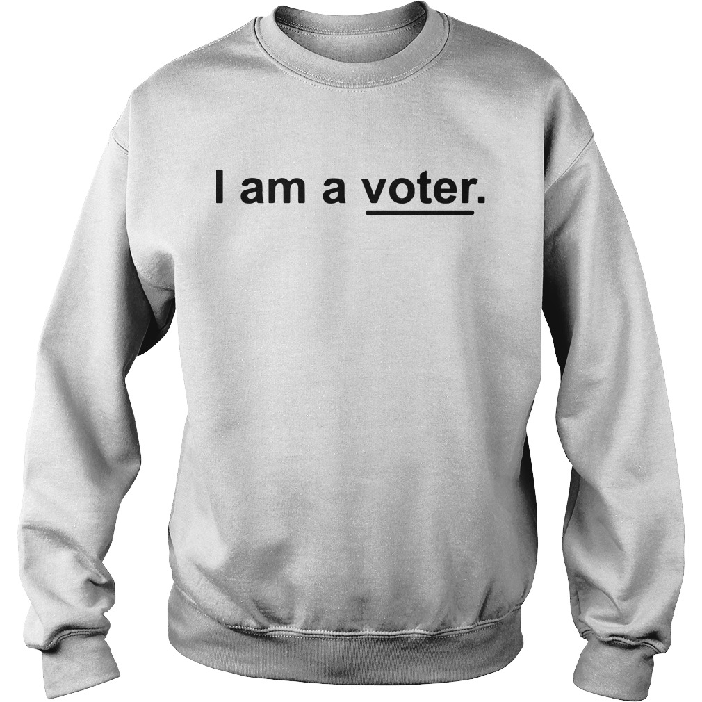 Ellis Ross I Am A Voter Sweater