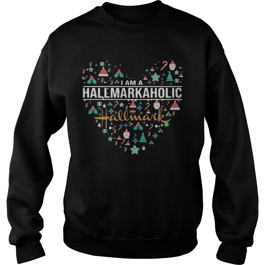 I Am A Hallmarkaholic Hallmark Sweater