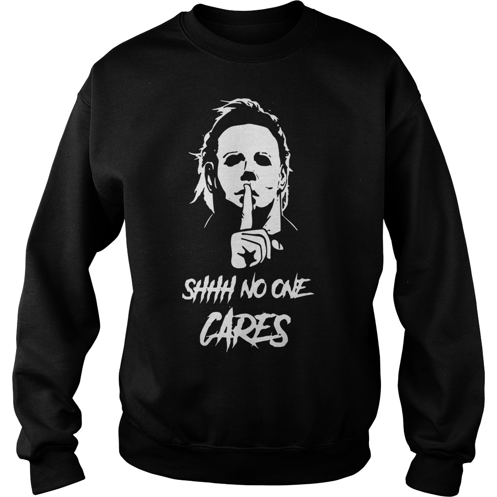 Official Michael Myers Shhh No One Cares Sweater