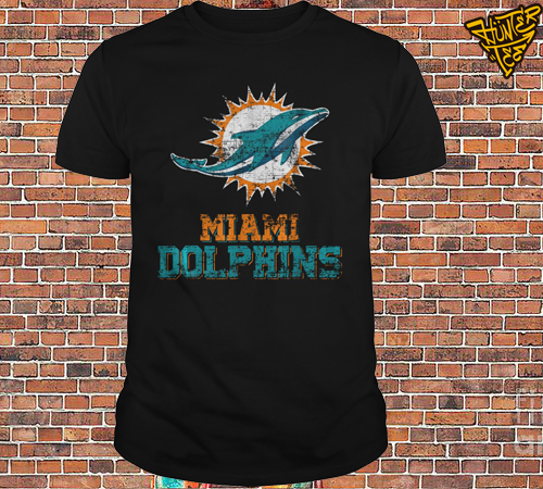 Retro Miami Dolphin Vintage Cute Shirt